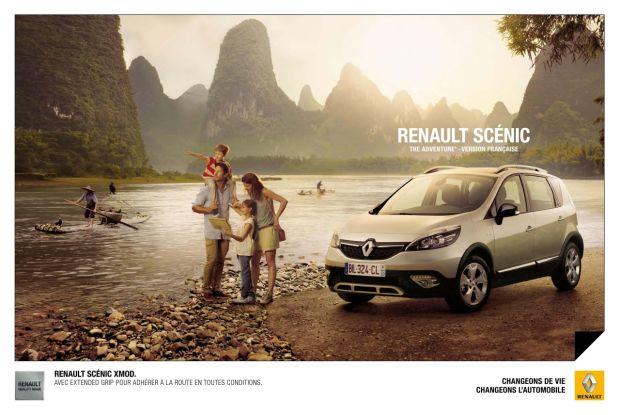 Dans cette publicité pour Renault, c'est l'expérience qui est mise en avant, et non les fonctionnalités de la voiture