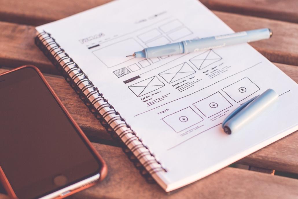 Testez le plus tôt possible vos idées, sous forme papier ou avec des maquettes en noir et blanc !